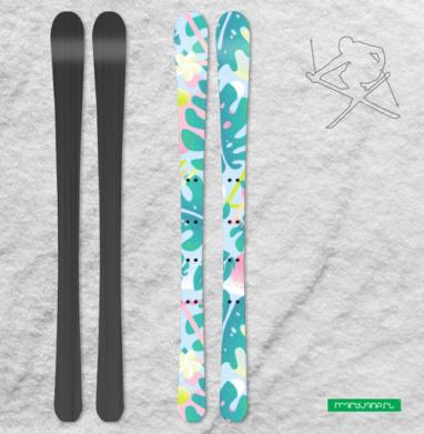 ТРОПИКАНА МАМА - Наклейки на лыжи