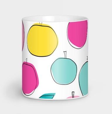Кислотные яблоки - Кружки с логотипом