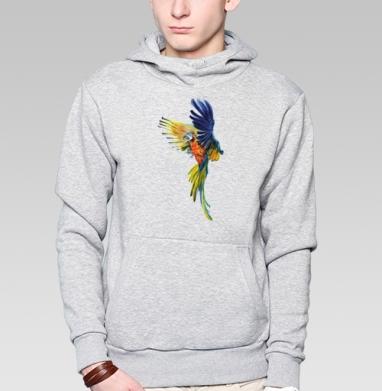 Тропический попугай - Толстовки.