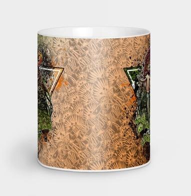 Психоделический Ворон - Кружки с логотипом
