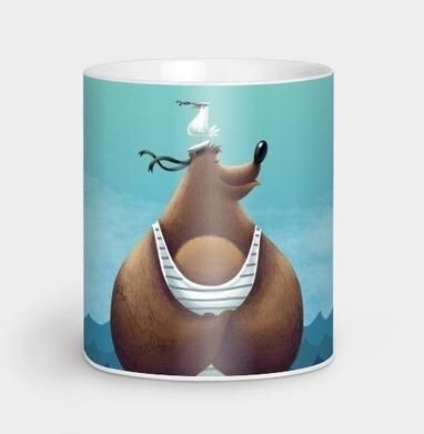Миша Морячок - Кружки с логотипом