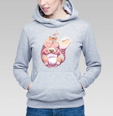Толстый, но довольный - Купить детские толстовки с любовью в Москве, цена детских толстовок с любовью  с прикольными принтами - магазин дизайнерской одежды MaryJane