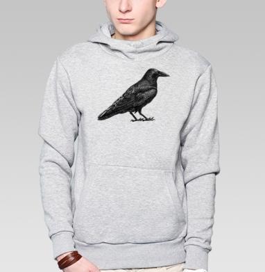 Чёрный ворон - Толстовки под заказ