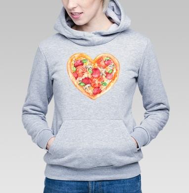 Пицца - это любовь - Купить детские толстовки с программистом в Москве, цена детских толстовок с программистом с прикольными принтами - магазин дизайнерской одежды MaryJane