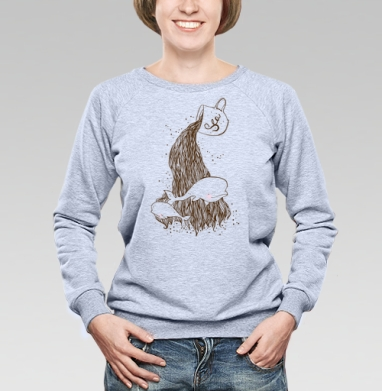 Чашка моря .... - Купить детские свитшоты с китами в Москве, цена детских свитшотов с китом с прикольными принтами - магазин дизайнерской одежды MaryJane