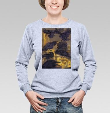 Семь воронов - Купить детские свитшоты со сказками в Москве, цена детских свитшотов со сказками  с прикольными принтами - магазин дизайнерской одежды MaryJane