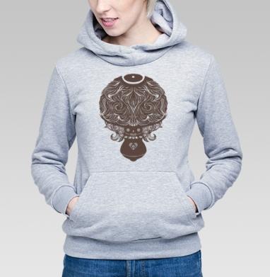 Гриб-скелет - Купить детские толстовки с природой в Москве, цена детских  с природой  с прикольными принтами - магазин дизайнерской одежды MaryJane