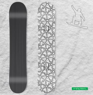 Футуристик - Виниловые наклейки на сноуборд купить с доставкой. Воронеж