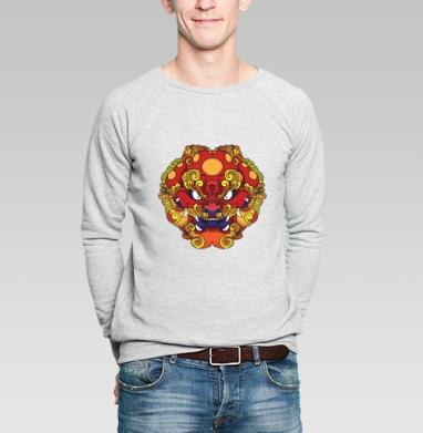 Фэн Шуй собака Фу - Купить мужские свитшоты с собаками в Москве, цена мужских свитшотов с собаками  с прикольными принтами - магазин дизайнерской одежды MaryJane