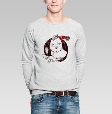 Огненый  - Купить мужские свитшоты Новый год в Москве, цена мужских свитшотов новогодних  с прикольными принтами - магазин дизайнерской одежды MaryJane