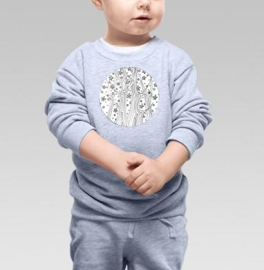 Таинственный лес - Купить детские свитшоты абстрактные в Москве, цена детских свитшотов абстрактных  с прикольными принтами - магазин дизайнерской одежды MaryJane