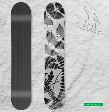 Растения - Виниловые наклейки на сноуборд купить с доставкой. Воронеж