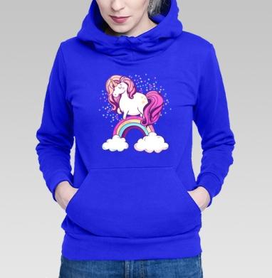 Единорог на радуге  - Толстовки женские в интернет-магазине