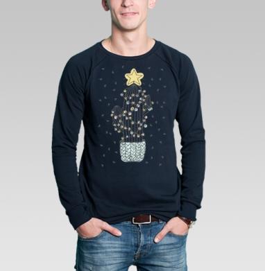 Свитшот мужской без капюшона тёмно-синий, тёмно-синий - Каталог продукции интернет-магазина футболок №1 Мэриджейн