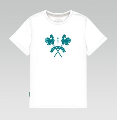 Детская футболка белая - Леденцы