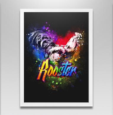Граффити петух - Постеры, новый год, Популярные