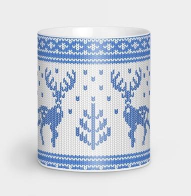 Зимний свитер с оленями - новый год, Новинки