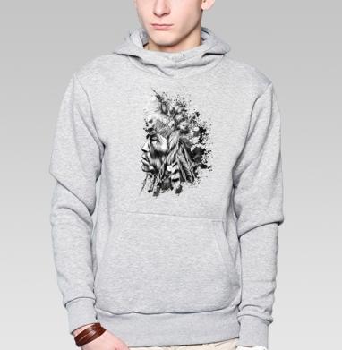 Индеец - Купить мужские толстовки Ниндзя в Москве, цена мужских  Ниндзя  с прикольными принтами - магазин дизайнерской одежды MaryJane