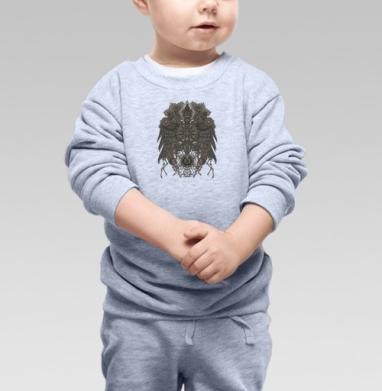 Великий Орёл, Cвитшот Детский серый меланж