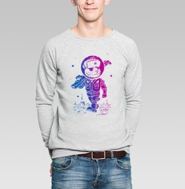 Партизан  - Купить мужские свитшоты военные в Москве, цена мужских свитшотов военных с прикольными принтами - магазин дизайнерской одежды MaryJane