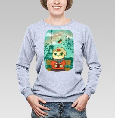 Из Парижа с любовью - Купить детские свитшоты с птицами в Москве, цена детских свитшотов с птицами  с прикольными принтами - магазин дизайнерской одежды MaryJane