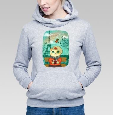 Из Парижа с любовью - Купить детские толстовки с птицами в Москве, цена детских толстовок с птицами  с прикольными принтами - магазин дизайнерской одежды MaryJane