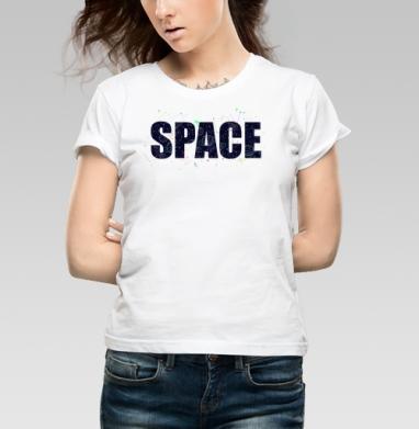 Космос говорит - Купить детские футболки с надписями в Москве, цена детских  с надписями  с прикольными принтами - магазин дизайнерской одежды MaryJane