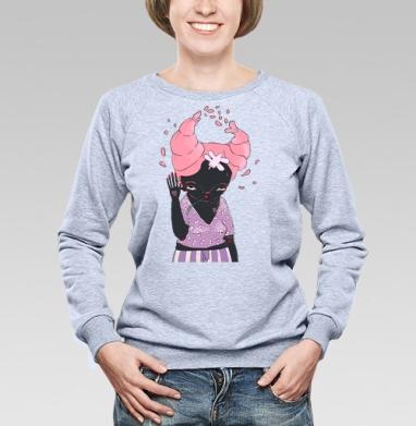 Она - Купить детские свитшоты с любовью в Москве, цена детских свитшотов с любовью  с прикольными принтами - магазин дизайнерской одежды MaryJane