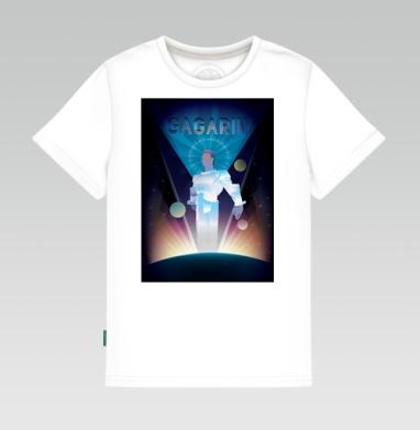 Первый полет в космос космонавта Юрия Гагарина, Детская футболка белая