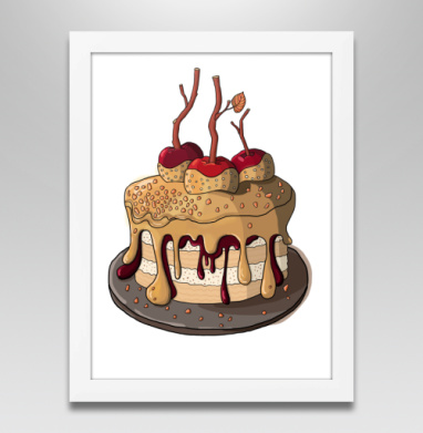Яблочный пирог  - Постеры, Фрукты