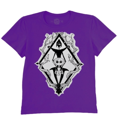 Футболка мужская темно-фиолетовая - В Лапах ведьмы