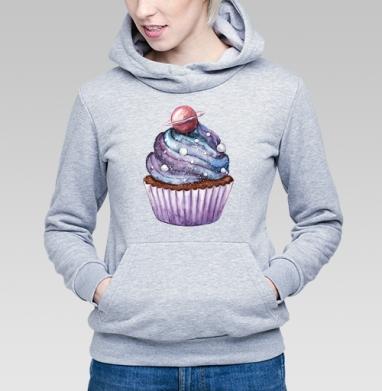 Космический десерт - Купить детские толстовки с акварелью в Москве, цена детских толстовок с акварелью  с прикольными принтами - магазин дизайнерской одежды MaryJane