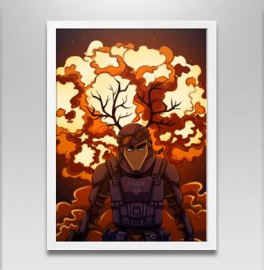 Боевой Олень - Постеры, любовь, Популярные