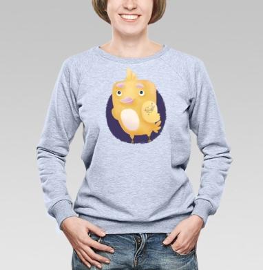 Влюблённый цыплёнок - Купить детские свитшоты с любовью в Москве, цена детских свитшотов с любовью  с прикольными принтами - магазин дизайнерской одежды MaryJane