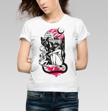 BLACK CAT - Купить детские футболки с городами в Москве, цена детских футболок с городами  с прикольными принтами - магазин дизайнерской одежды MaryJane