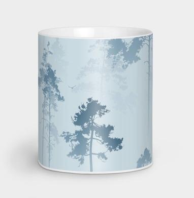 Лес. Туман, Кружка