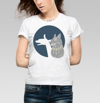 Shadow - Купить детские футболки с собаками в Москве, цена детских футболок с собаками  с прикольными принтами - магазин дизайнерской одежды MaryJane