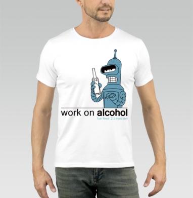 Bender_ - Купить мужские футболки с роботами в Москве, цена мужских футболок с роботами с прикольными принтами - магазин дизайнерской одежды MaryJane