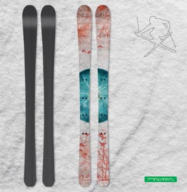 Воспаленное око планеты - Наклейки на лыжи