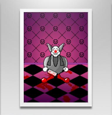 Злой клоун - Постеры, мужские, Популярные