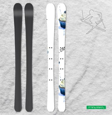 Сладкоежкам - Наклейки на лыжи