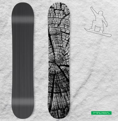 Кольца жизни - Виниловые наклейки на сноуборд купить с доставкой. Воронеж