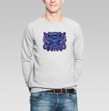 Ритуал - Купить мужские свитшоты с космосом в Москве, цена мужских свитшотов с космосом  с прикольными принтами - магазин дизайнерской одежды MaryJane