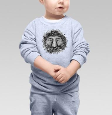 Из листвы смотрящий - Купить детские свитшоты с природой в Москве, цена детских свитшотов с природой  с прикольными принтами - магазин дизайнерской одежды MaryJane