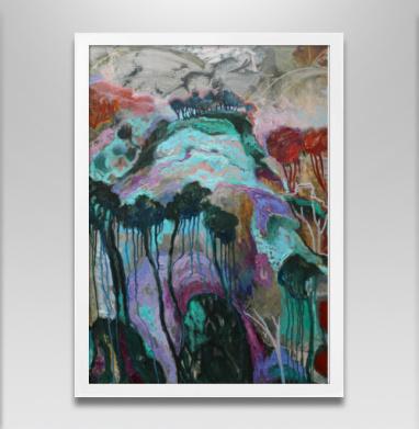 Зачарованный лес - Постеры, Живопись