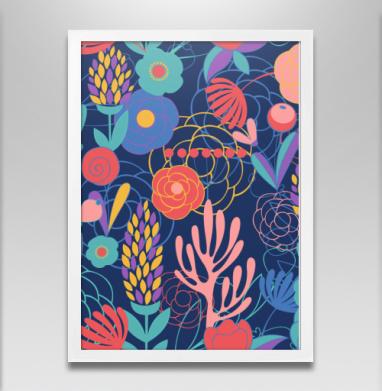 Полуночный сад - Постеры, паттерн, Популярные