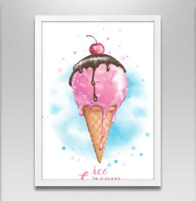 Фруктовое мороженко - Постеры, сладости, Популярные