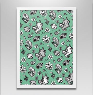 Улитки и черепа - Постеры, грибы, Популярные