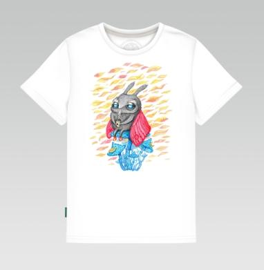 Осенний мотылек - Детские футболки с прикольными надписями