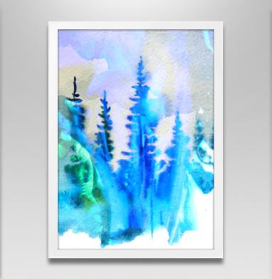 Магия северных лесов - Постеры, деревья, Популярные